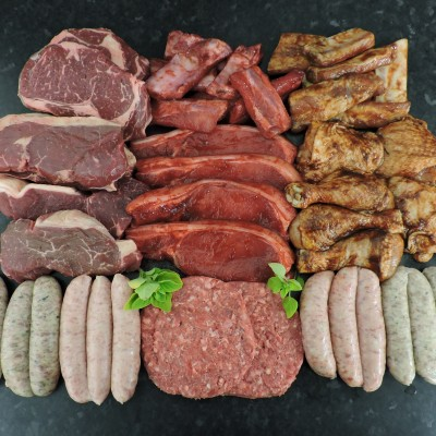 BBQ pack selection